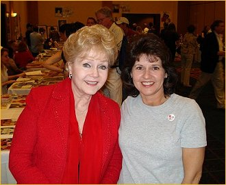 Debbie Reynolds and Mary