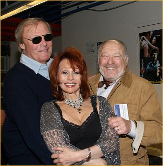 With Adam West and Malachi Throne