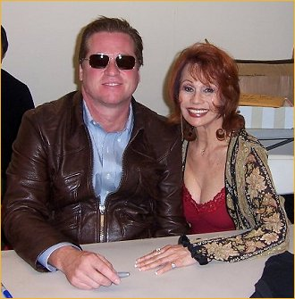 With Val Kilmer