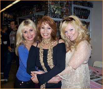 With Cathy St. George and Nicole Wood