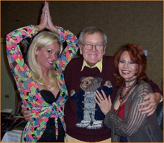 With Chase Masterson and Bill Daily