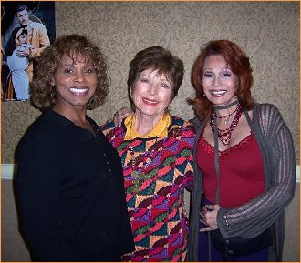 With Gloria Hendry and Coleen Gray