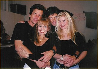 With Dirk Benedict, Gerard Christopher and Cindy Guyer