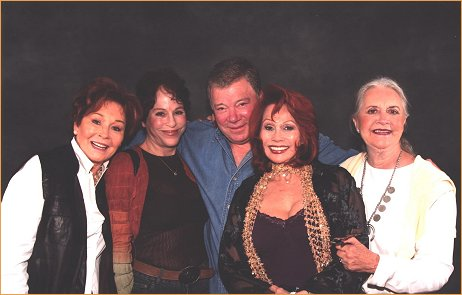 Trek Babes and Captain Kirk