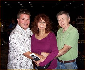 With Rod Roddenberry and Walter Koenig