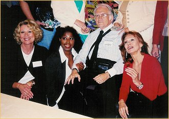 With Leslie Easterbrook and Marion Ramsey