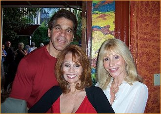 With Lou and Carla Ferrigno