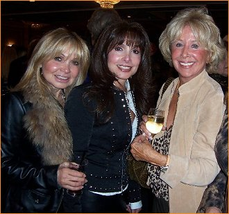 Cindy and Judy Strangis with Helen Grayco