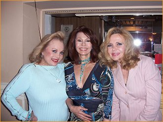 With Carol Connors and Deanna Lund