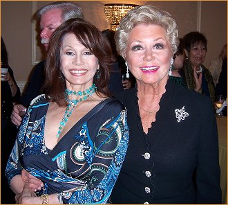 With Mitzi Gaynor