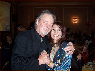 With Russ Tamblyn