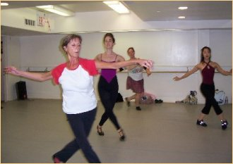 Christine also teaches tap and ballet