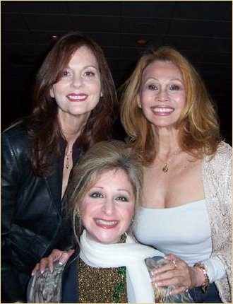 Lesley Ann, me and Julie Budd