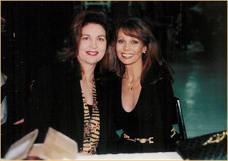 With Linda Harrison