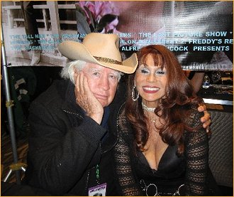 With Clu Gulager