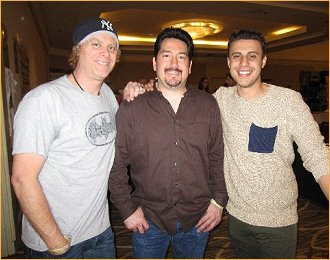 Dave Wilbur, my Jimmy and actor Anthony Tringali