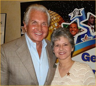 Webmistress Mary Spooner and George Hamilton