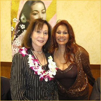 With Nancy Kwan