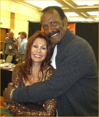 With Fred Williamson