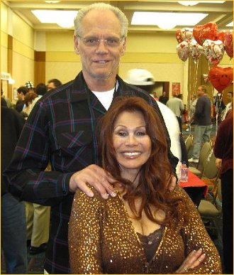 With Fred Dryer