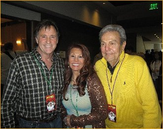 With Robert Hays and Mike Connors
