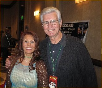 With Kent McCord