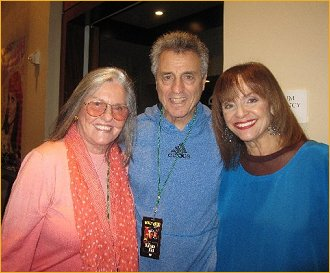 Audry Loggia with Valerie Harper and husband Tony