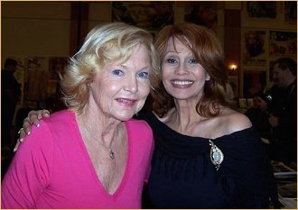 With Carol Lynley