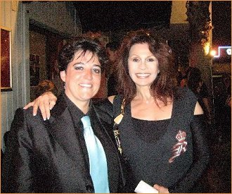 With dynamite singer Terese Genecco