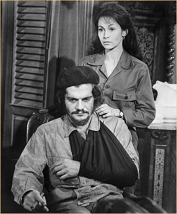 With Omar Sharif in Che!