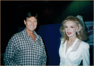 John Philip Law and Julie Newmar