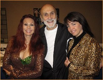 With Larry Ellis and Debbie