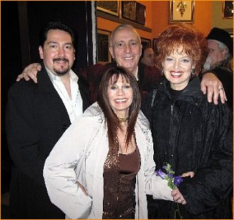 With friends Spence Ross and wife Pat Sellers