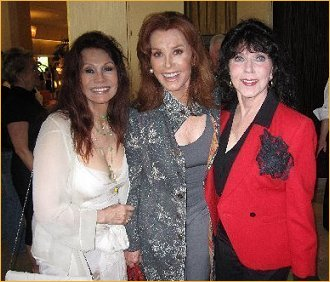 With Stefanie Powers and Rita D'amico Hyde