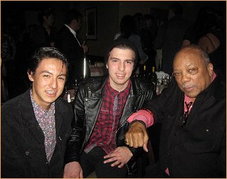 With Quincy Jones