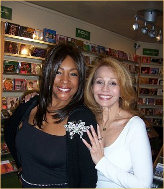 With Mary Wilson