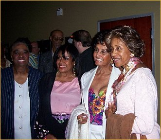 Linda Hopkins, Scherrie Payne, Marla Gibbs and sister
