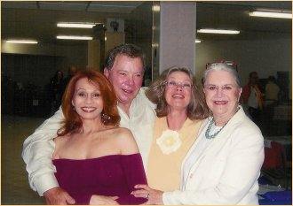 With William Shatner, Antoinette Bower and Joanne Linville