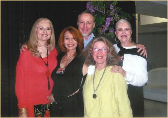 With Celeste Yarnall, Stewart Moss, Antoinette Bower and Joanne Linville