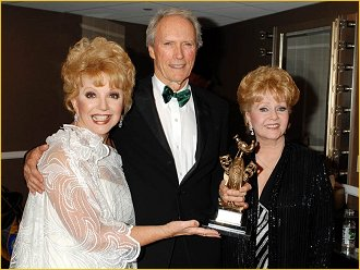 Ruta Lee, Clint and Debbie Reynolds