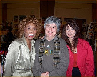 With Gloria and Kathy Clements