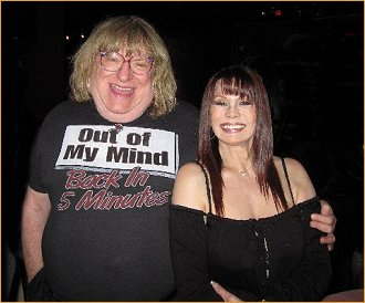With Bruce Vilanch