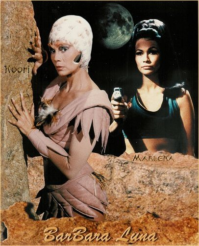 Buck Rogers and Star Trek Collage