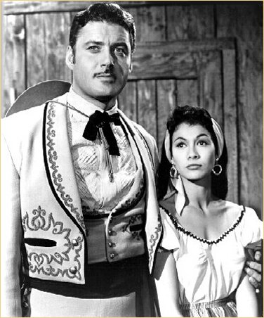 With Guy Williams in Zorro