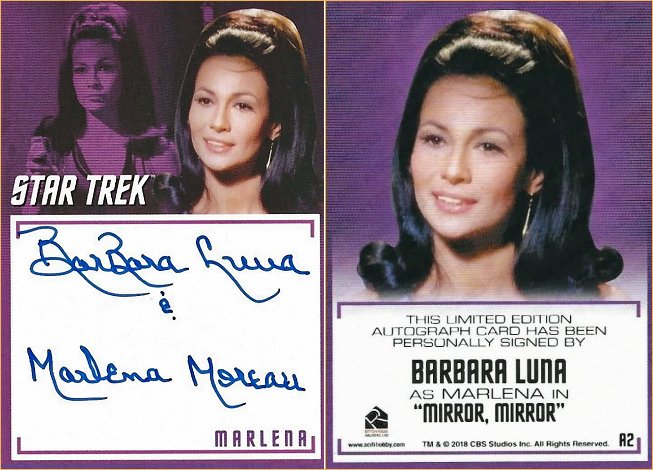 2018 Star Trek Trading Card