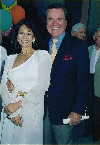 With Robert Wagner