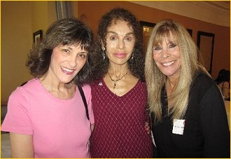 Teri, Anita and Marianna Pecora worked together on Shindig