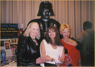 With Celeste Yarnall and France Nuyen