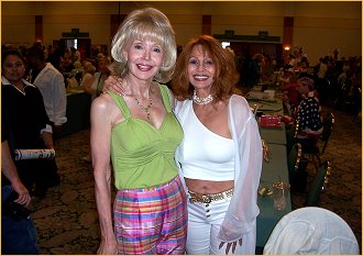Me and Francine York